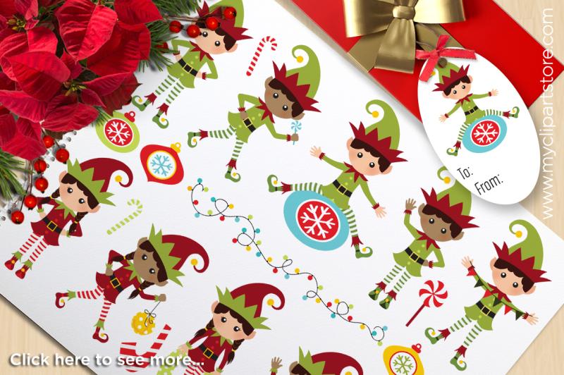 santa-s-christmas-elves-vector-clipart