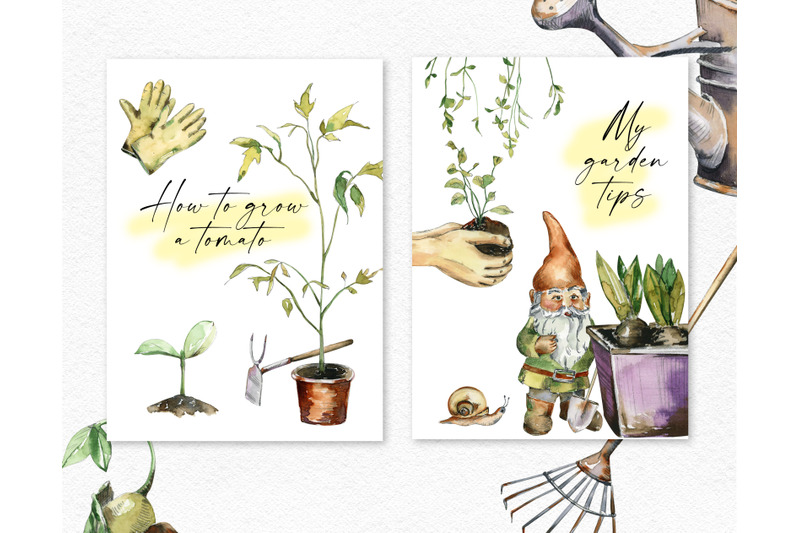watercolor-gardening-clipart-hand-painted-garden-icons-farmhouse-png