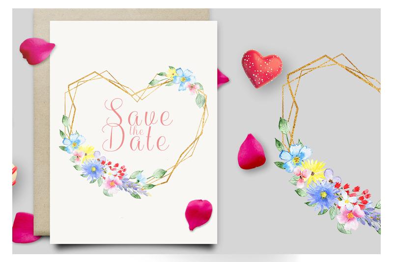watercolor-flowers-frames-clipart-floral-set