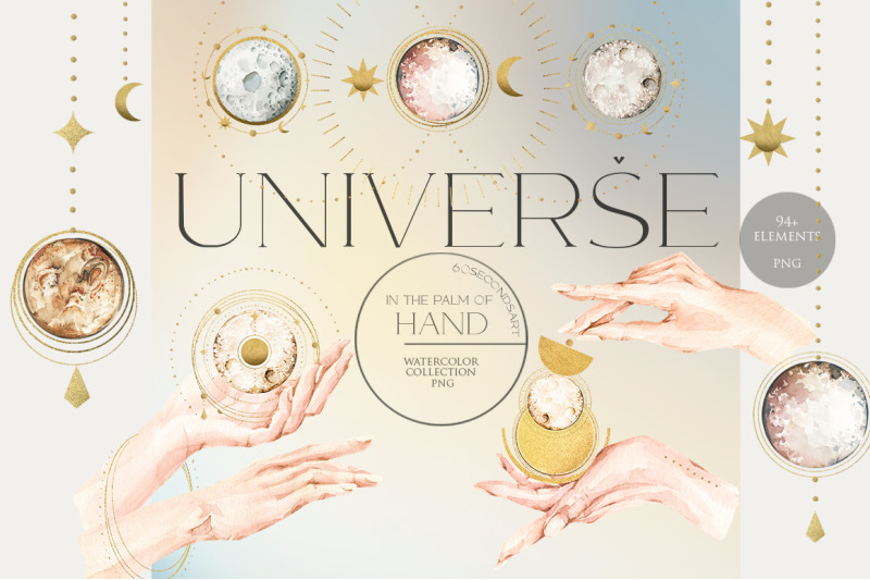 celestial-mystery-set-watercolor-cosmos-hands