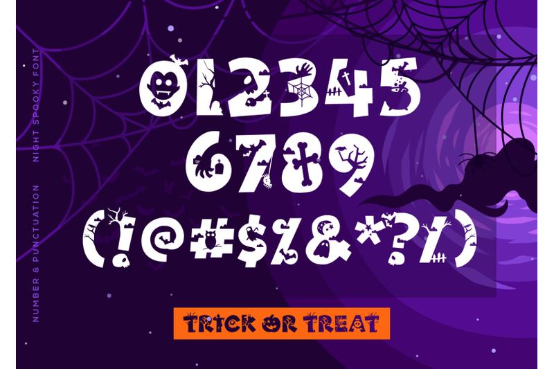 night-spooky-font