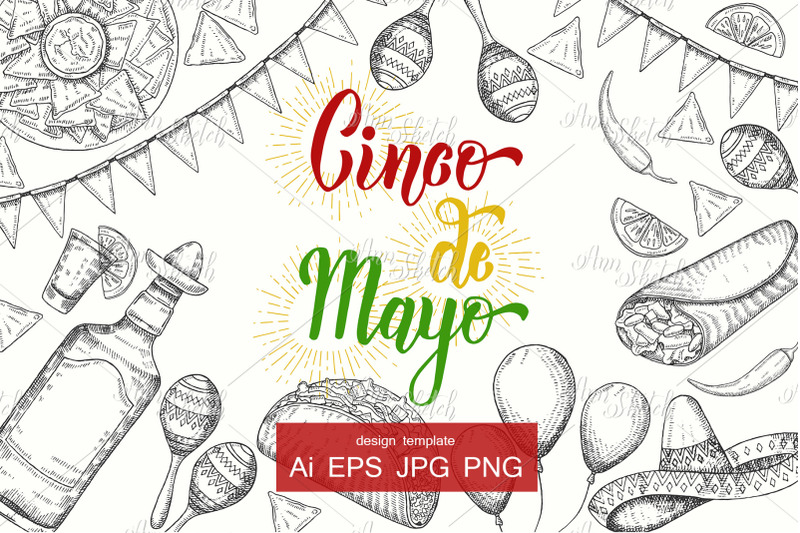 vector-cinco-de-mayo-festive-template