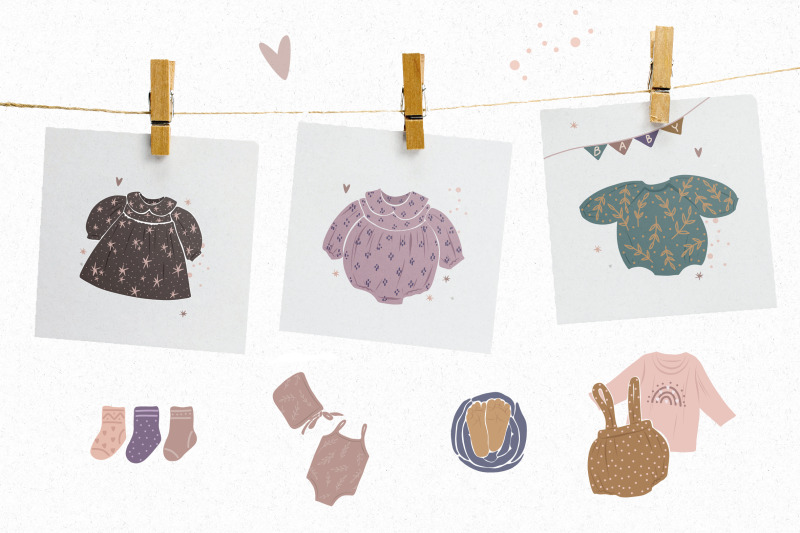 newborn-children-abstract-collection-in-the-style-of-minimalism