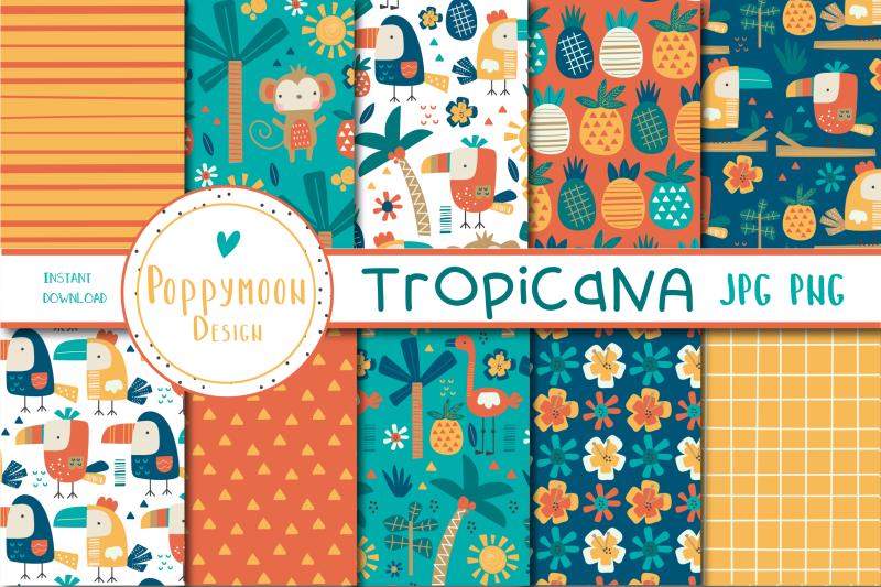 tropican-paper-set