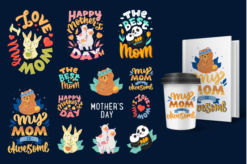 collection-of-cartoonish-family-designs