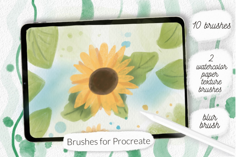 procreate-watercolor-and-texture-brushes
