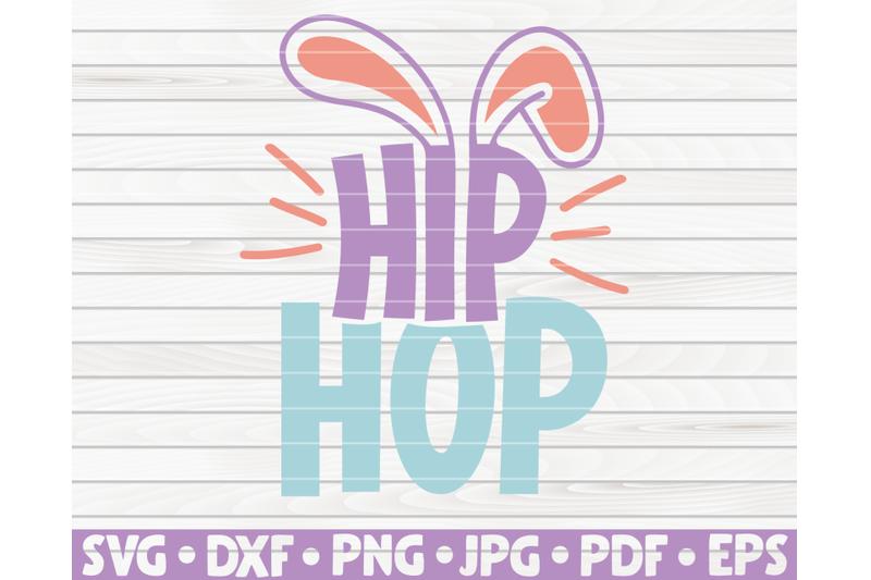 hip-hop-svg-easter-design