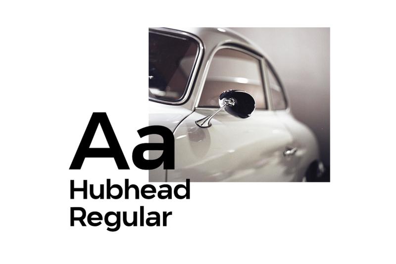 hubhead-ggeometric-sans-serif-font