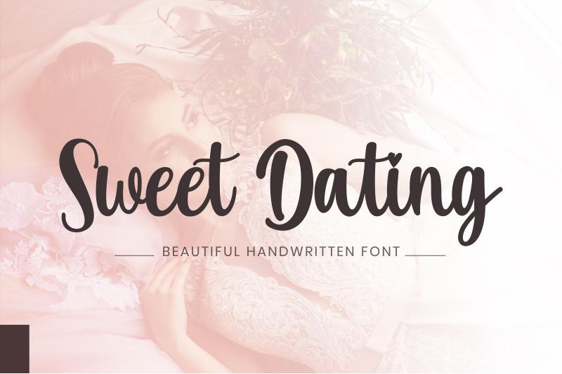 sweet-dating-a-beautiful-handwritten-font
