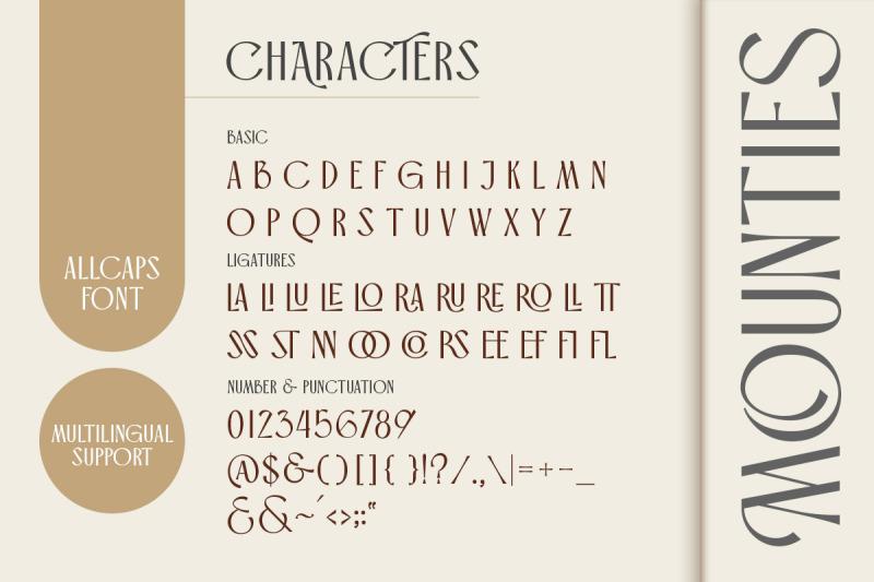 mounties-display-font