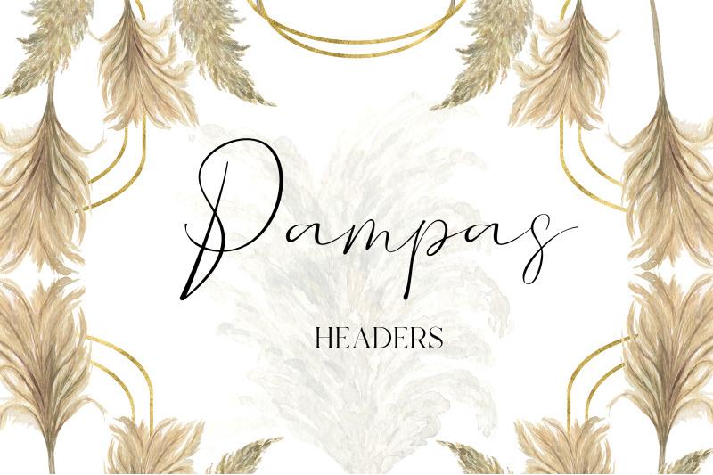 pampas-grass-clipart-boho-watercolor