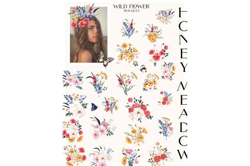 honey-meadow-wild-flower-graphic
