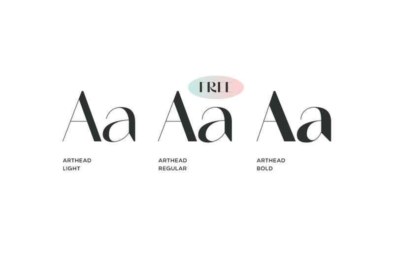 arthead-modern-sans-serif