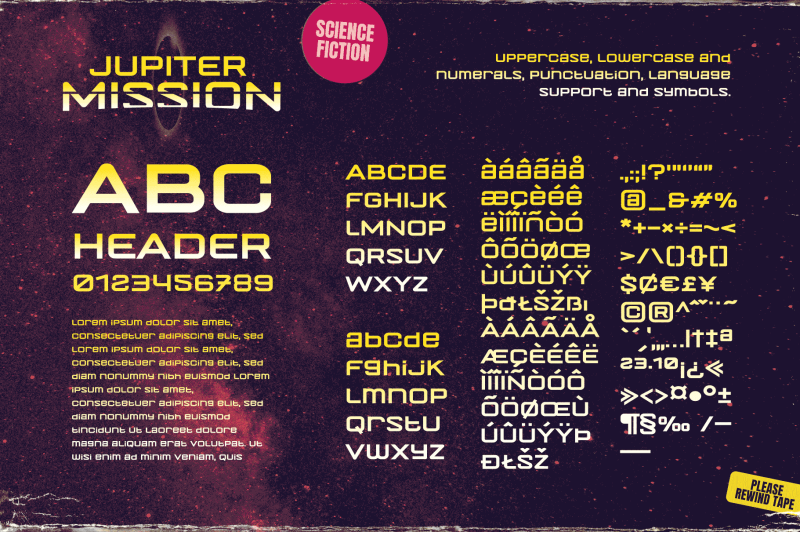 jupiter-mission-a-science-fiction-font-spectacular