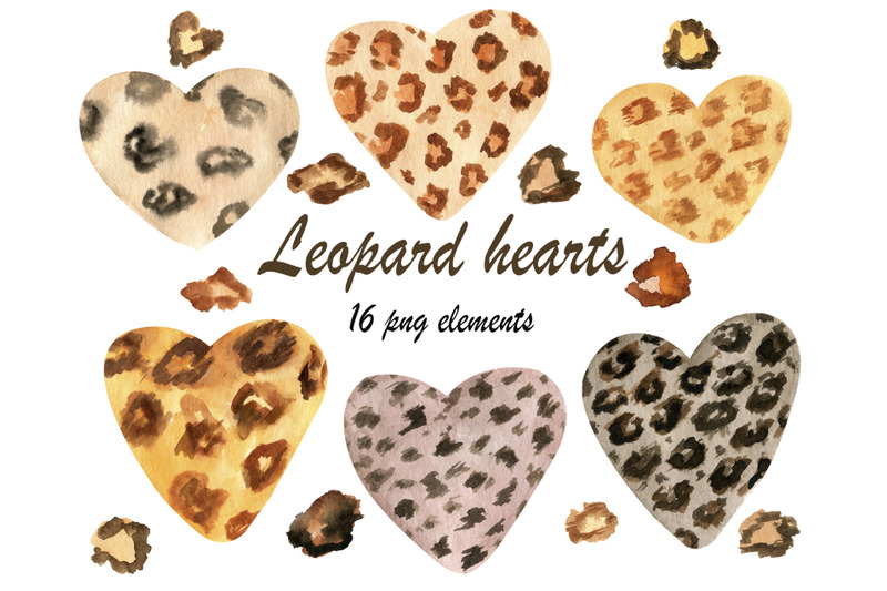 watercolor-leopard-heart-png-clipart