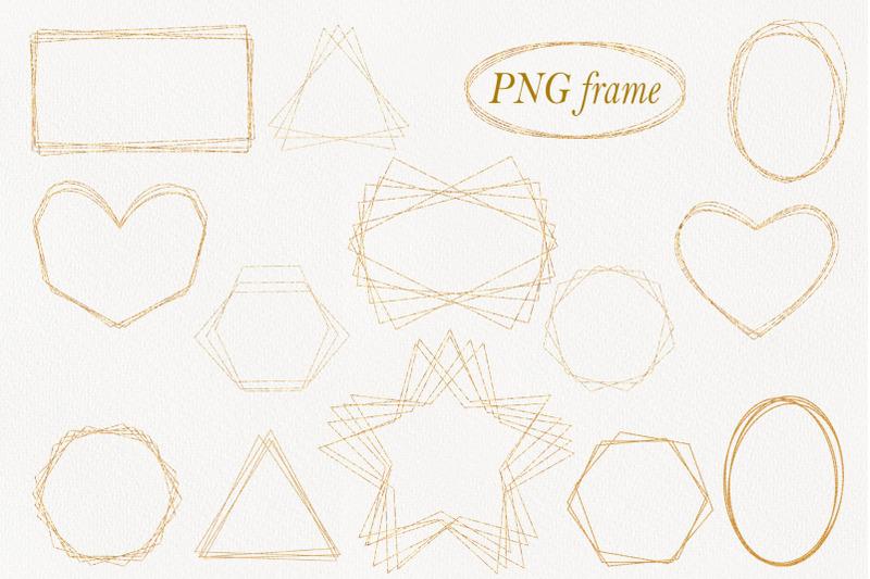 digital-gold-frames-png