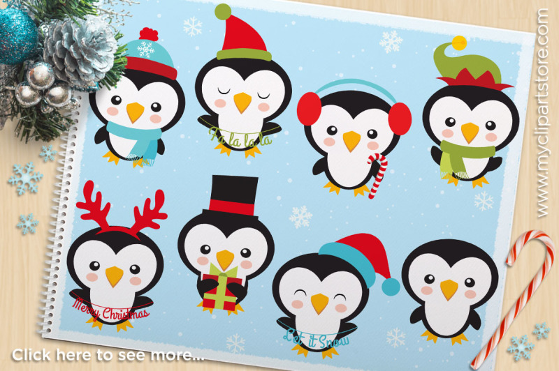 cute-christmas-penguins-vector-clipart