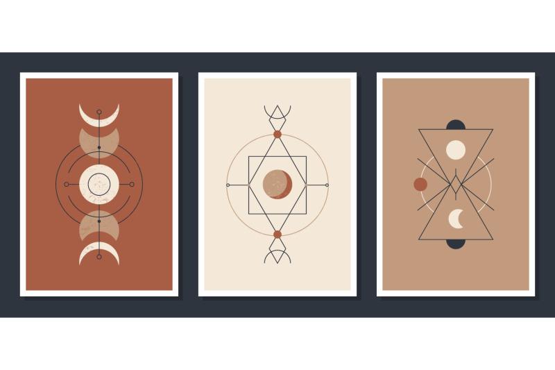 contemporary-boho-posters-set