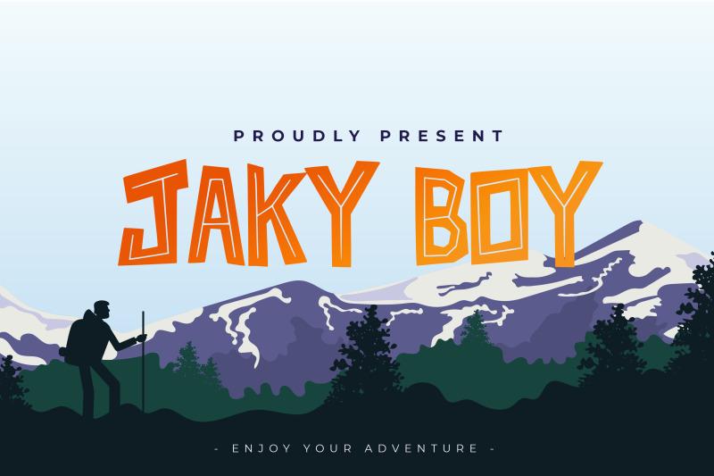 jaky-boy-font