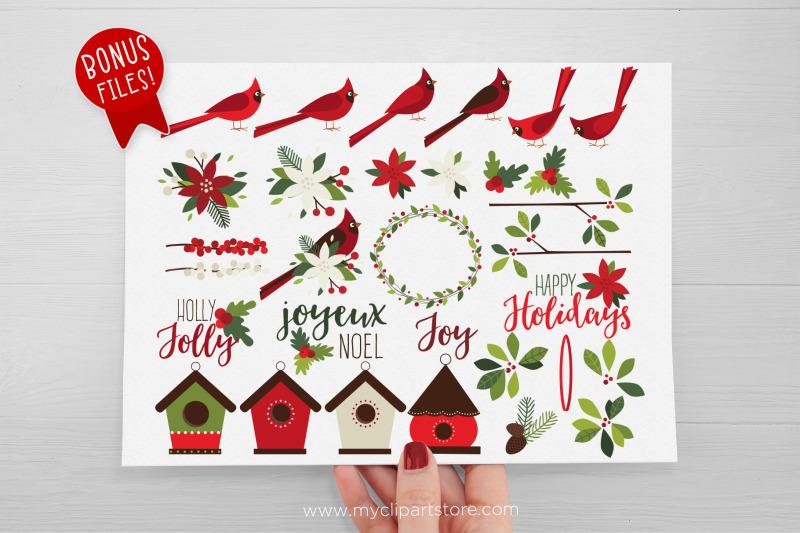christmas-cardinals-clipart-farmhouse-vector-sublimation-svg