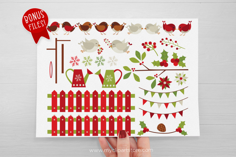 christmas-red-robin-vector-clipart