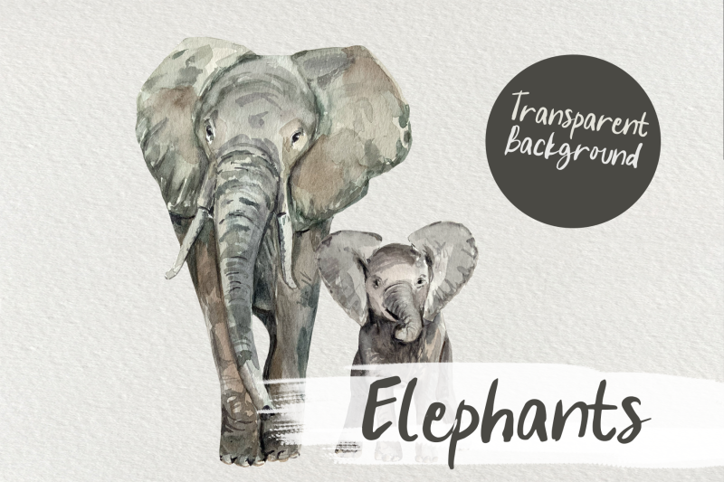 watercolor-elephants-clip-art
