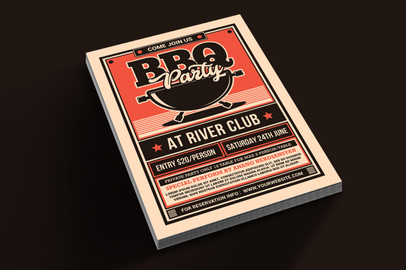 bbq-party-flyer