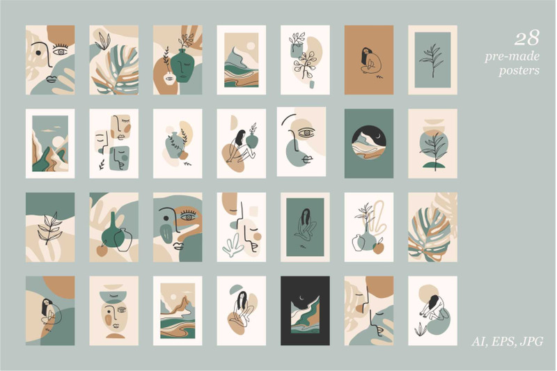 clean-line-vector-collection