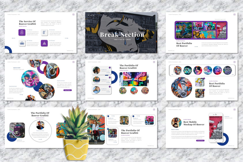 roover-graffiti-powerpoint-templates