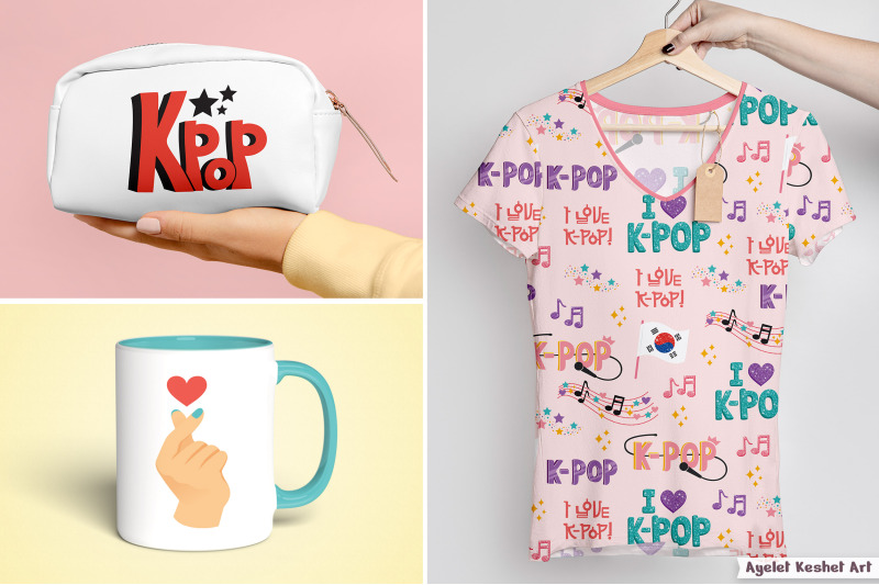 k-pop-clipart-and-patterns