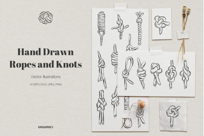 hand-drawn-ropes-and-knots-illustrations