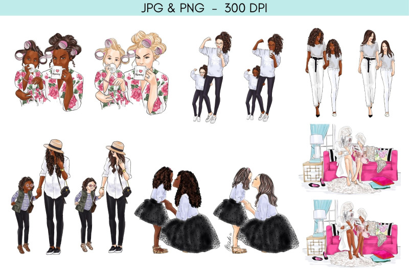 the-ultimate-mommy-amp-me-bundle-clipart
