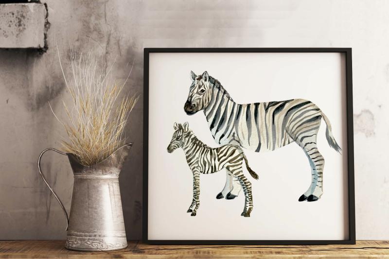watercolor-zebras-clip-art