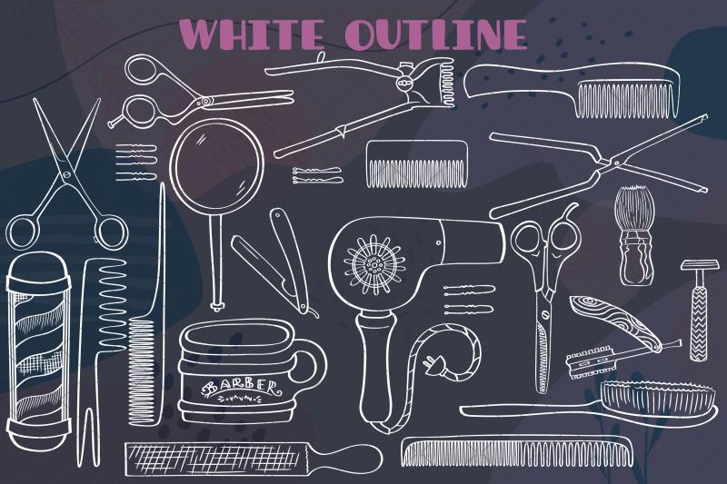 white-barber-shop-vintage-beauty-salon-hairdresser-doodles