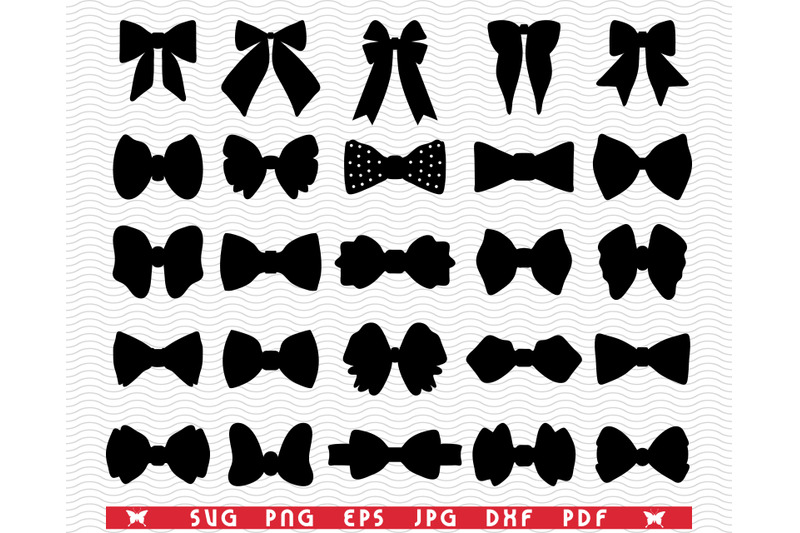svg-butterfly-bows-black-silhouettes-digital-clipart