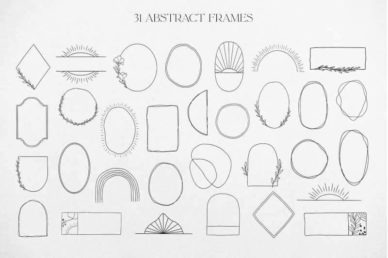 abstract-logo-elements-amp-frames