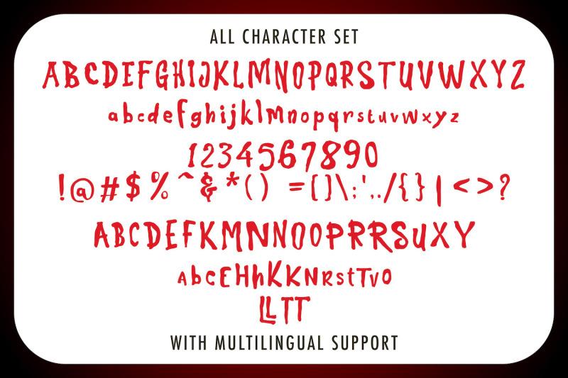 super-wadon-haunted-display-font