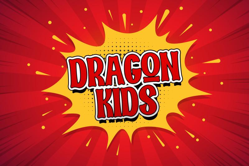 dragon-kids-playful-display-font