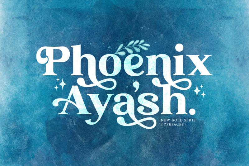 phoenix-ayash-bold-serif-font