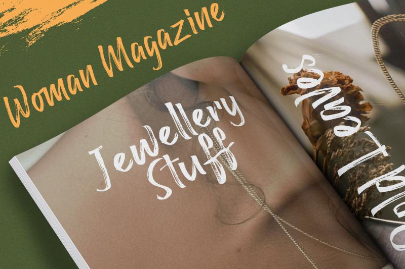 raffles-bryant-textured-brush-font