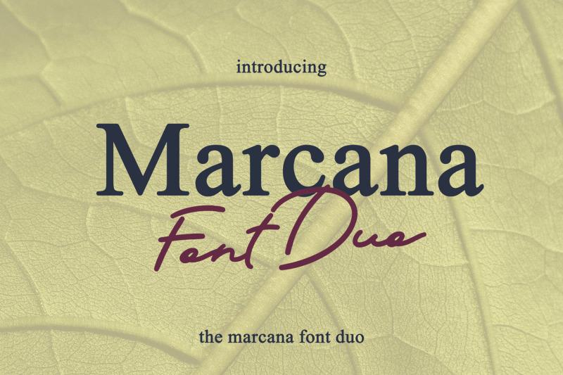 marcana-font-duo