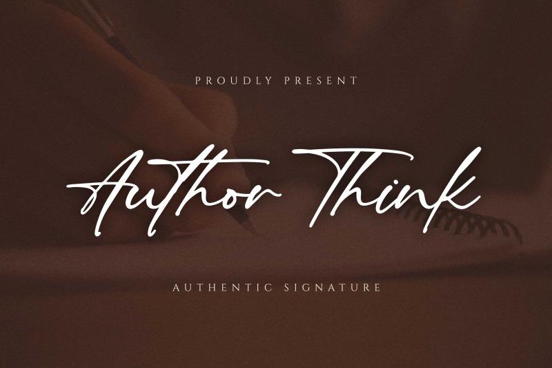 author-think