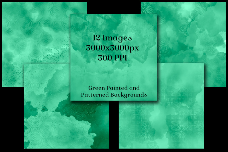 green-painted-and-patterned-backgrounds-12-image-textures