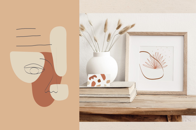 cutout-collection-modern-illustrations