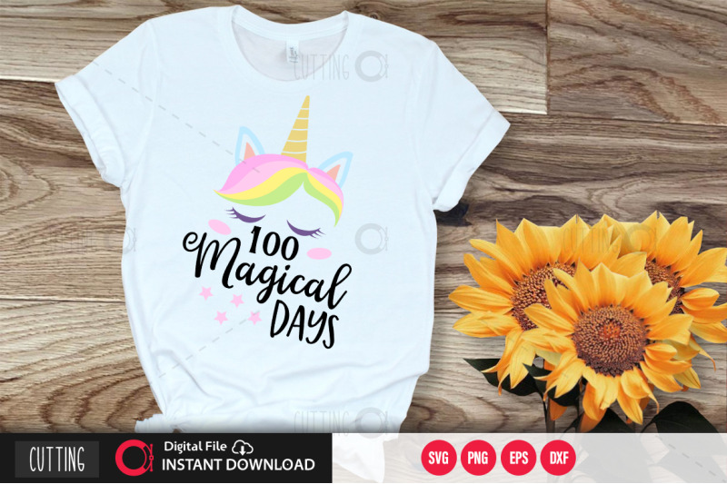1oo-magical-days-2-svg