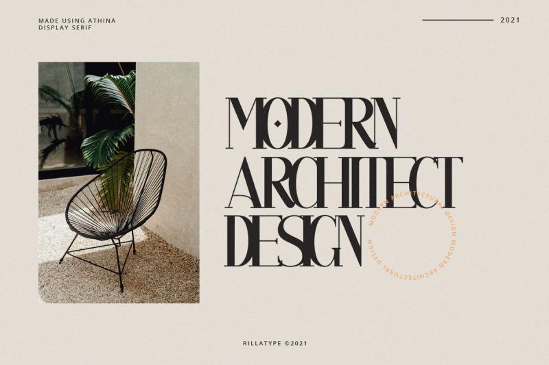 athina-modern-serif