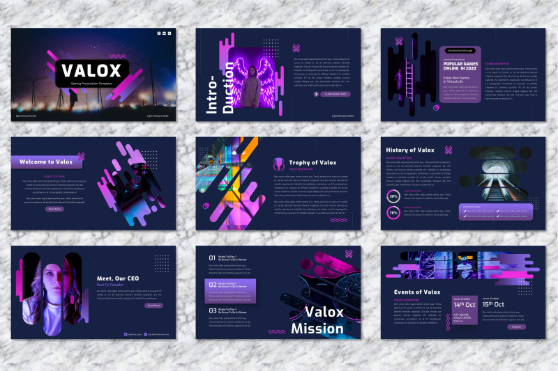 valox-gaming-googleslide-template