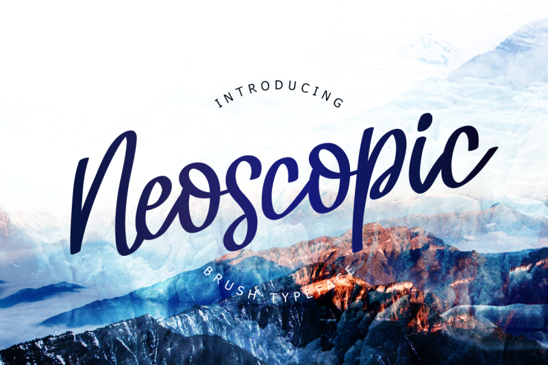 neoscopic-brush-typeface