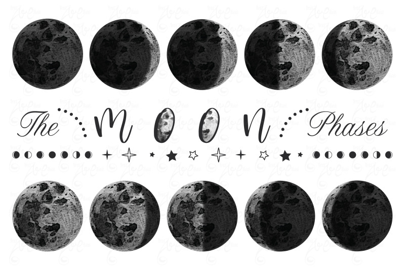 moon-phases-watercolor-set