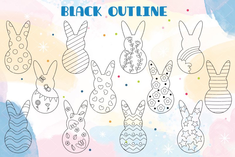 easter-bunny-amp-eggs-doodles-decorated-heart-flower-polka-dots